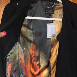 Ted Baker London Jackets & Coats - New w/ tags black Ted Baker trench coat